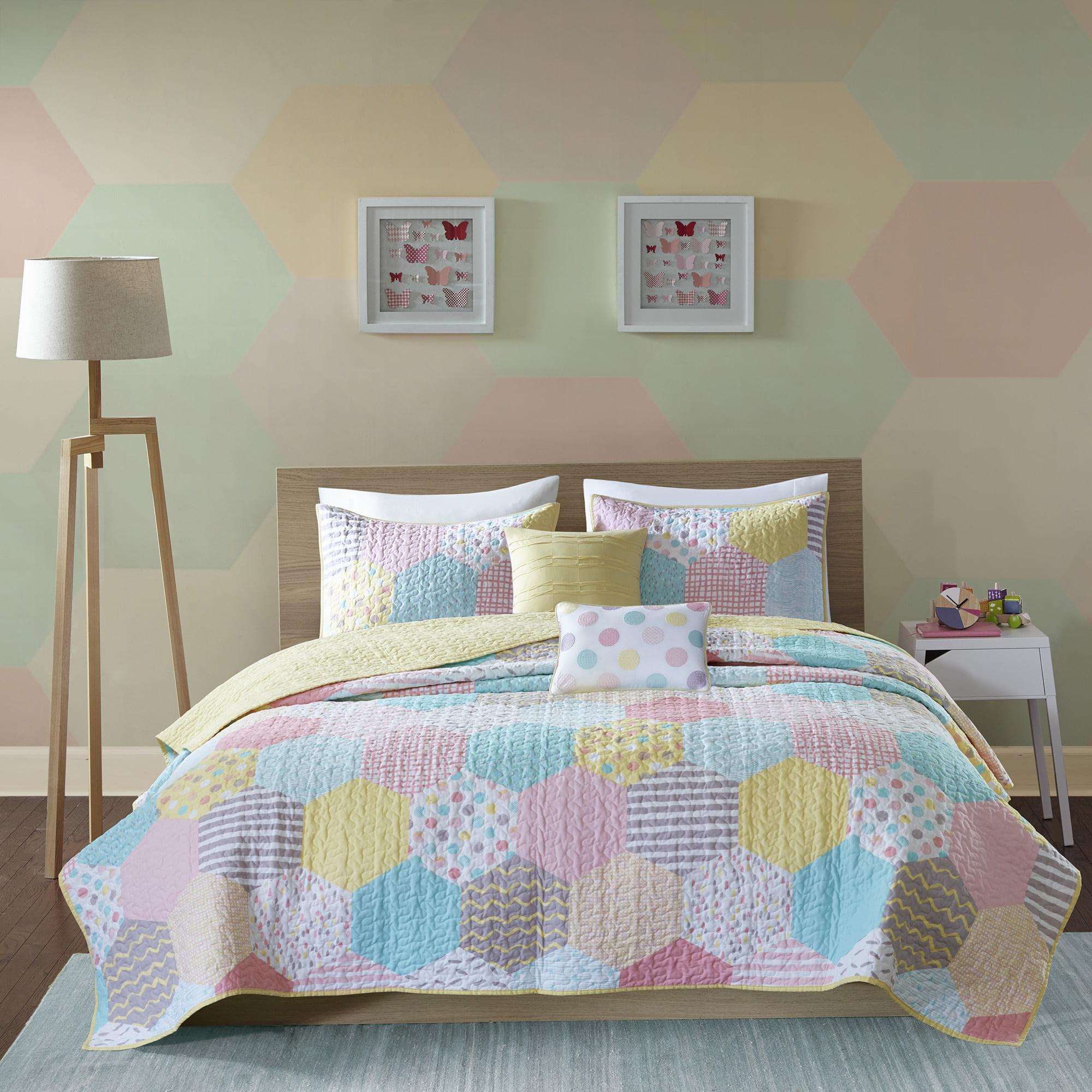 Home Essence Kids Tana Prewashed Cotton Coverlet Set
