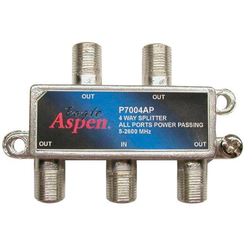 Eagle Aspen 500312 4-Port 2,600MHz Splitter