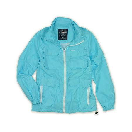 Ecko Unltd  Mens Nylon Full Zip Hooded Windbreaker Jacket