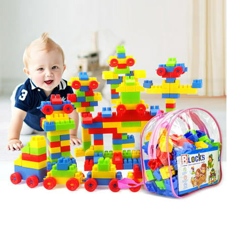 Kids Building Toys (Cosyitems 130Pcs Building Blocks Educational Toys for Baby Kids /Parent-Child Toys –Great Christmas Gifts on)