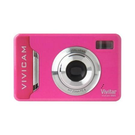 Vivitar Digital Concepts 7.1 MP Digital Camera With Anti-shake - (Pink)