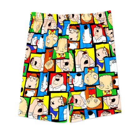 family guy men's briefly stated boxer shorts underwear fg092mbx