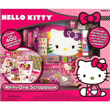 Hello Kitty Scrapbook Kit Walmartcom