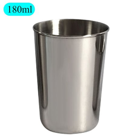 Stainless Steel Mug Liqueur Glass Drop Resistance Children Water Bottle White Wine Cup 30ml50ml180ml320ml - Wine Bottle Covers Halloween