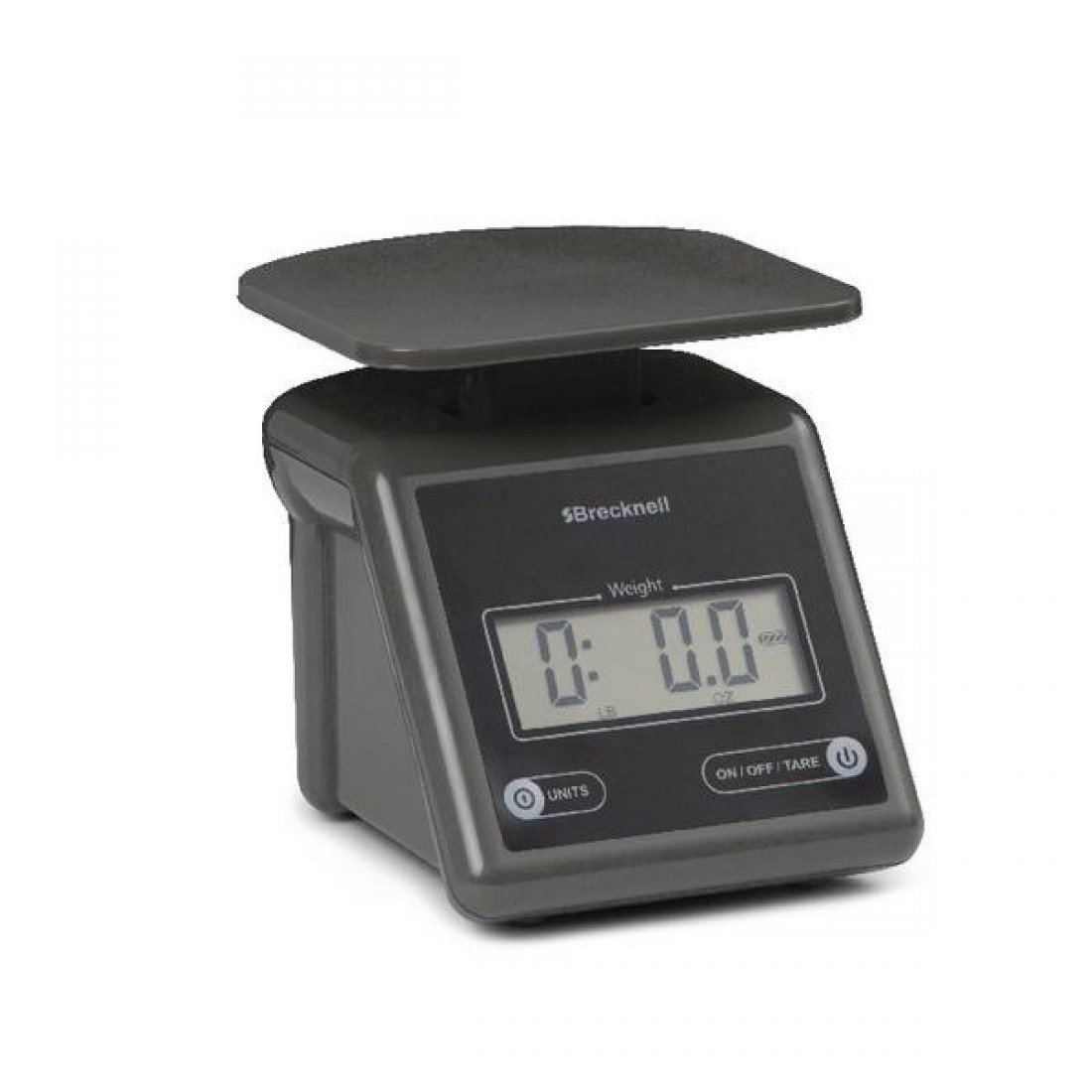 Brecknell Electronic Postal Scale, 7 Lbs Capacity, 6-4 5 x 5-3 5 Inches Platform, Gray (PS7), Electronic... by
