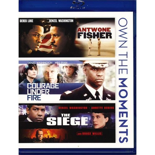 Antwone Fisher / Courage Under Fire / The Siege (Blu-ray) (Widescreen)