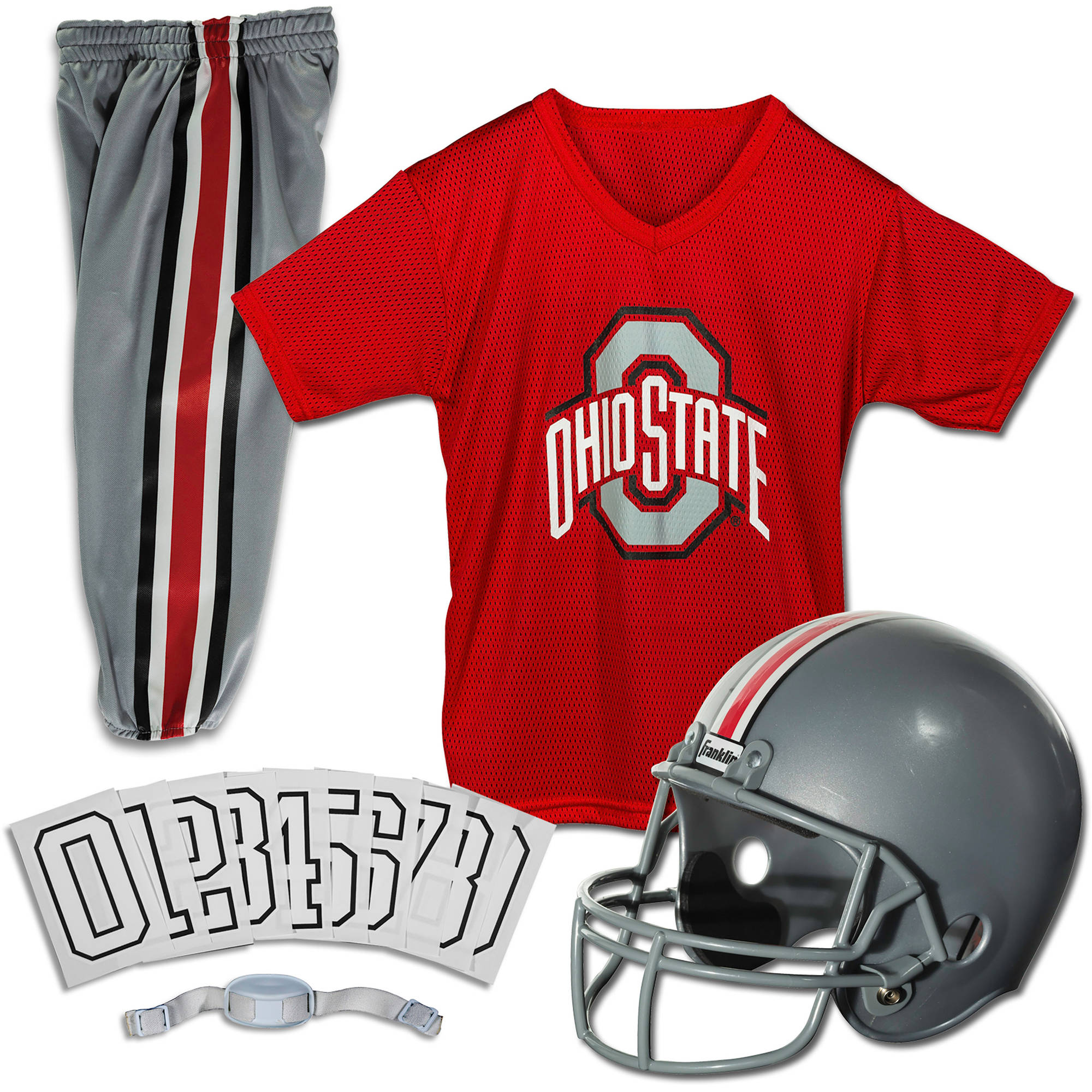 Franklin Sports NCAA Ohio State Buckeyes Uniform Set, Medium