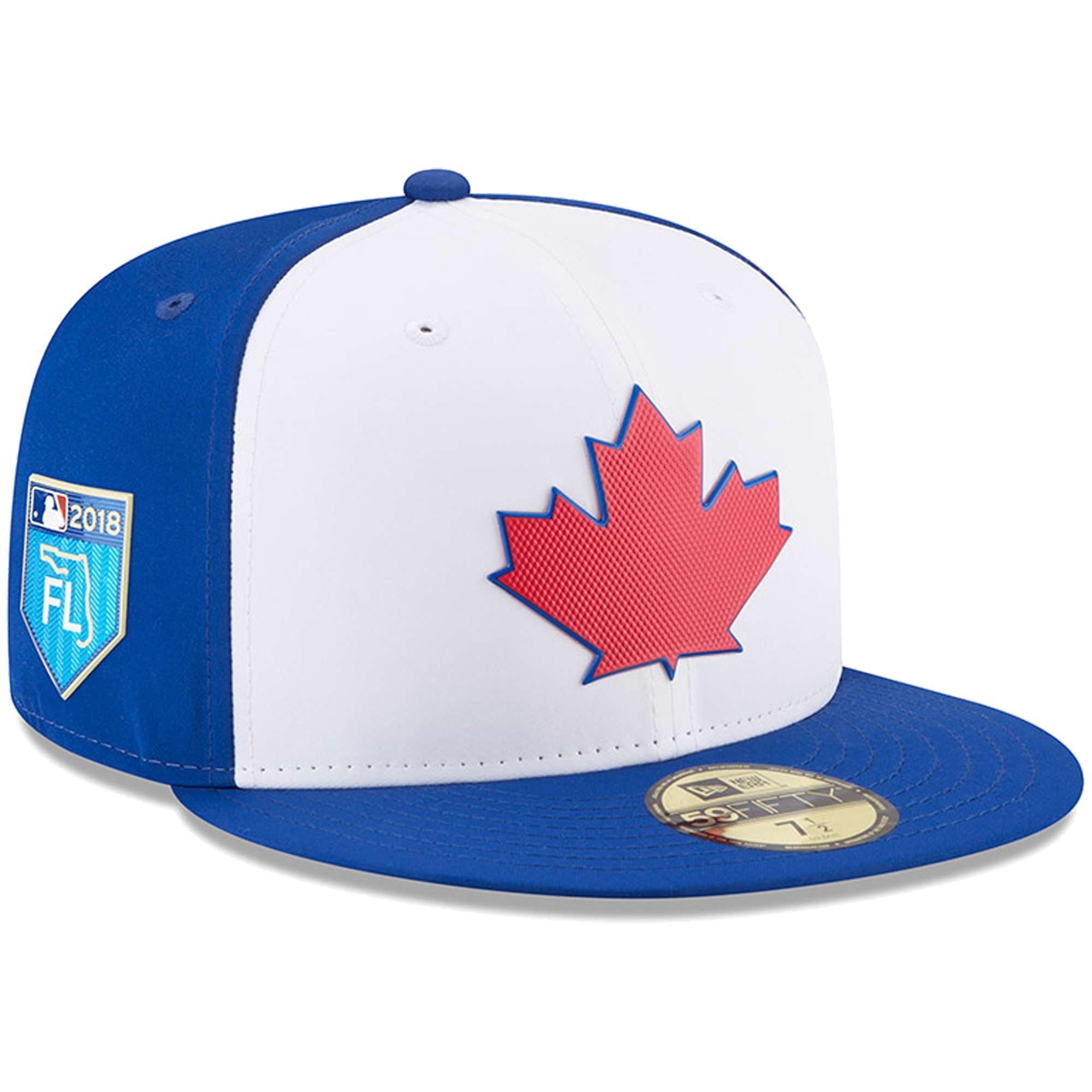 Toronto Blue Jays New Era 2018 Spring Training Collection Prolight 59FIFTY Fitted Hat - White
