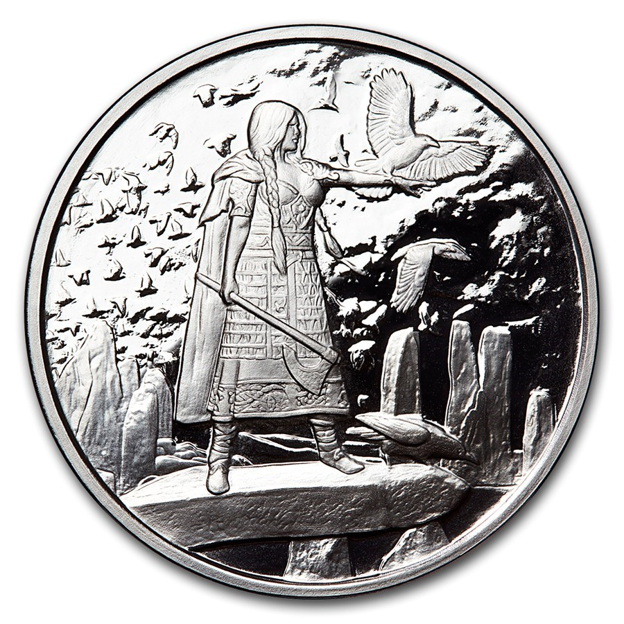 1 oz Silver Proof Round Celtic Lore (The Morrigan)