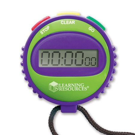 Best Learning Resources Simple Stopwatch, 1-Pack, Ages 5+ deal