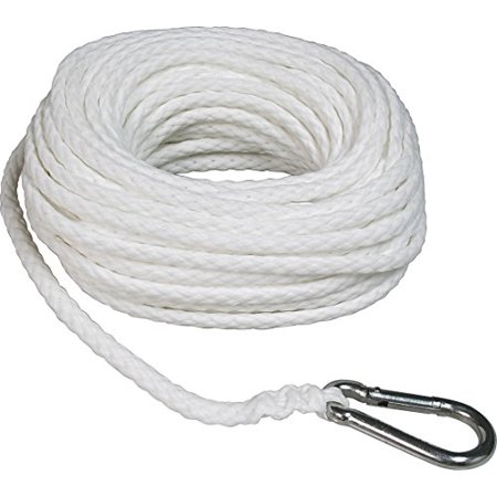 SeaSense Hollow Braid  Polypropylene Anchor Line, 1/4