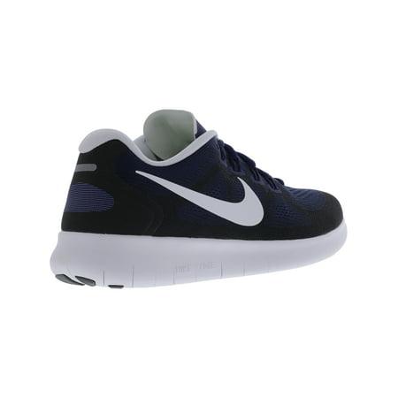 bb61c7475692 Nike Men s Free Rn 2017 Binary Blue   Dark Sky Ankle-High Running Shoe ...