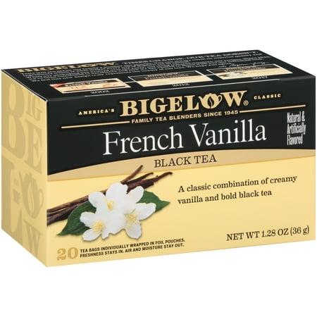 Bigelow, French Vanilla, Tea Bags, 20 Ct
