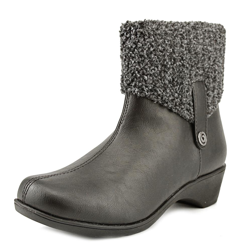 Soft Style by Hush Puppies Kendria   Round Toe Canvas  Ankle Boot