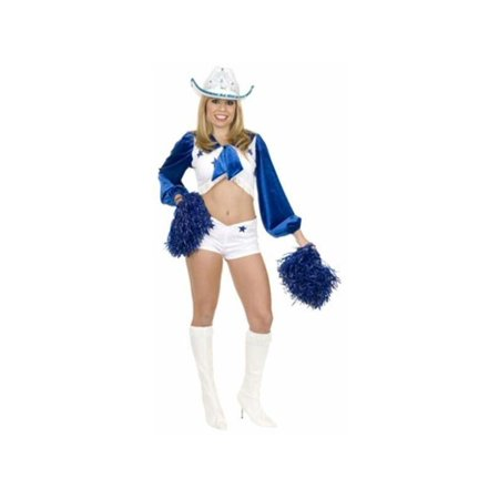 Star Cheerleader Adult Costume - Large
