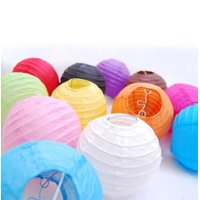 """10 Pack of 8"""" 10"""" 12"""" 14"""" 16"""" Paper Lantern Chinese Decoration Wedding Party"""