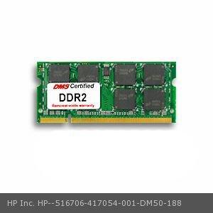 42u Memory - DMS Compatible/Replacement for HP Inc. 417054-001 Presario V3104TU 512MB DMS Certified Memory 200 Pin  DDR2-667 PC2-5300 64x64 CL5 1.8V SODIMM - DMS