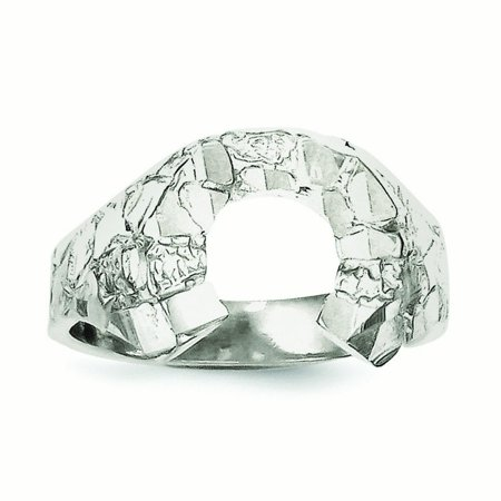- Sterling Silver Horseshoe Ring - Ring Size: 9 to 12