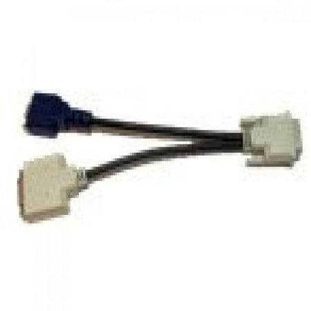 Dell X2026 Dvi I Splitter Cable Dvi I Male 24 5 To Dvi D