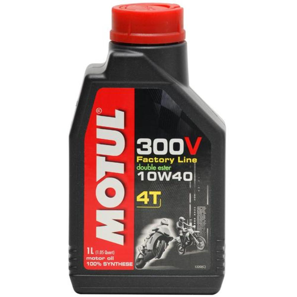 Motul 104121 300V 4T Competition Synthetic Oil - 10W40 - 4L.