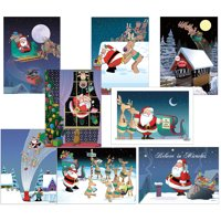 Funny Christmas Card Variety Pack 24 Cards & 25 Envelopes