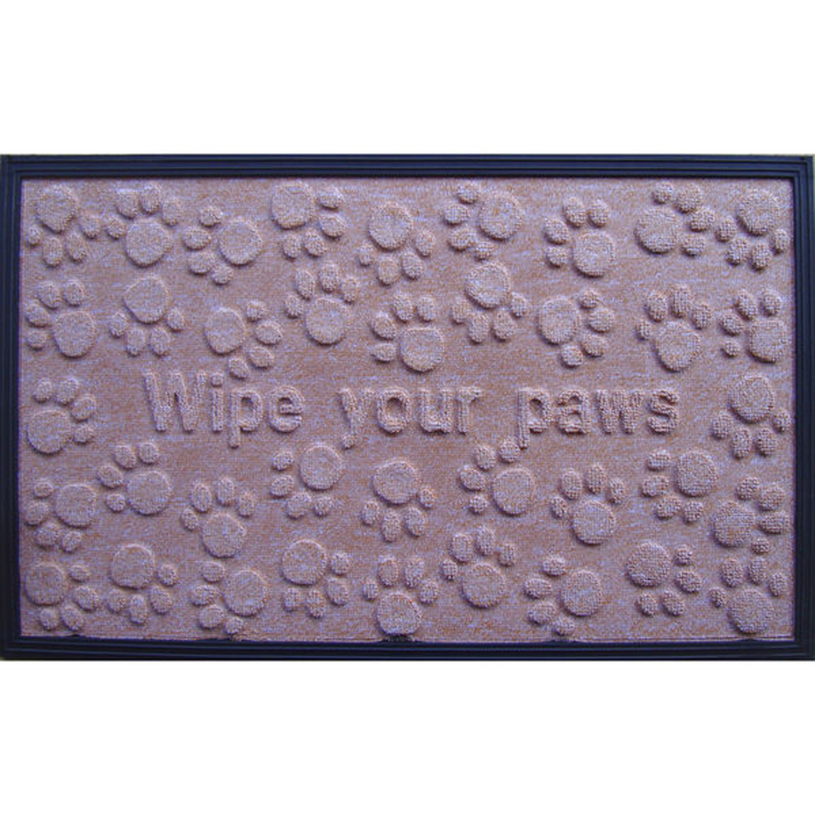 First Impression Wipe Your Paws Fun Door Mat