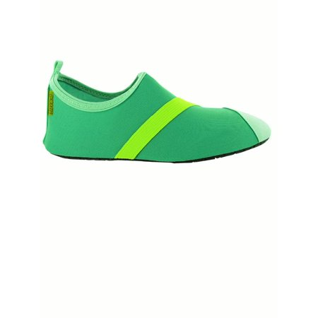 Gray Trim Footwear (Fitkicks Active Lifestyle Slip-on Footwear, Small, Turquoise)
