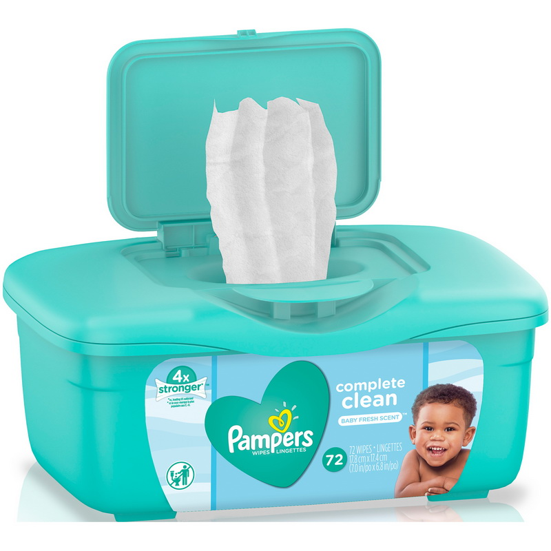 Pampers 75476 Wipes Pampers Tub Baby Fresh Scent 8-72 Count