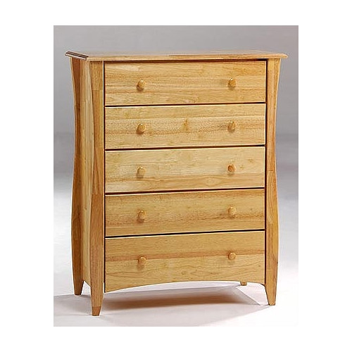 Night & Day Furniture Spices Bedroom 5 Drawer Chest