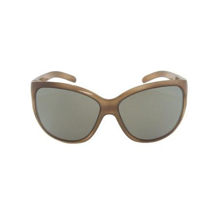 Porsche Design Design P8524 B Oval Sunglasses | Brown Horn Frame | Light grey Lens - image 1 de 1