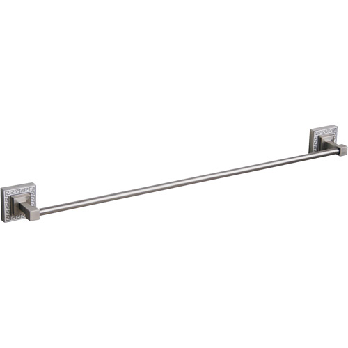 "Victory 24"" Towel Bar, Brushed Nickel by Elegant Home Fashions"