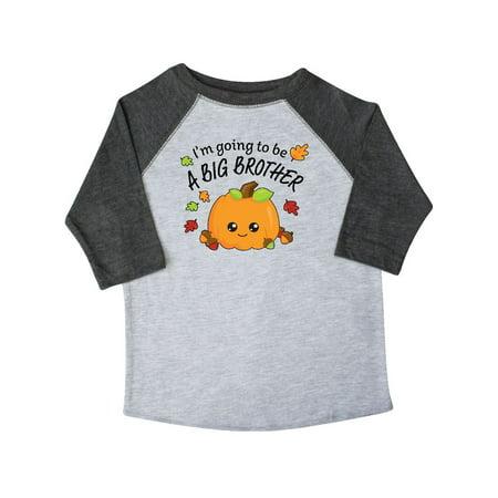 I'm Going to be a Big Brother- cute Halloween pumpkin Toddler T-Shirt - Cute Halloween Shirts
