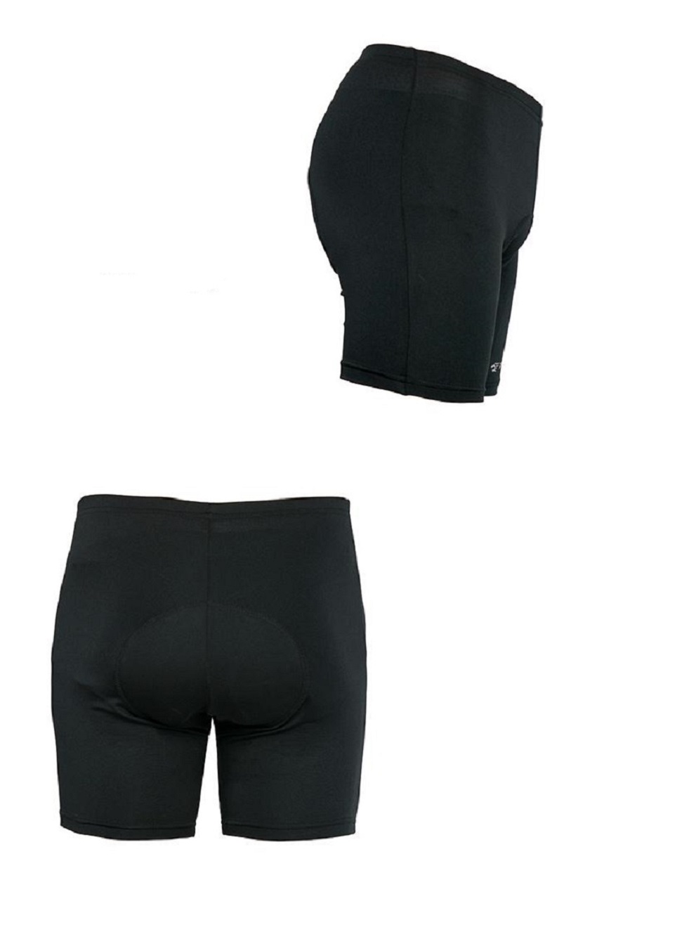 Men's Gel Padded Cycling Shorts Medium by Unbranded
