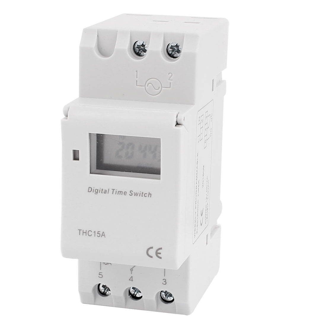 Thc15a 12v Dc Ac Lcd Digital Electronic Programmable Timer Time Relay Switch