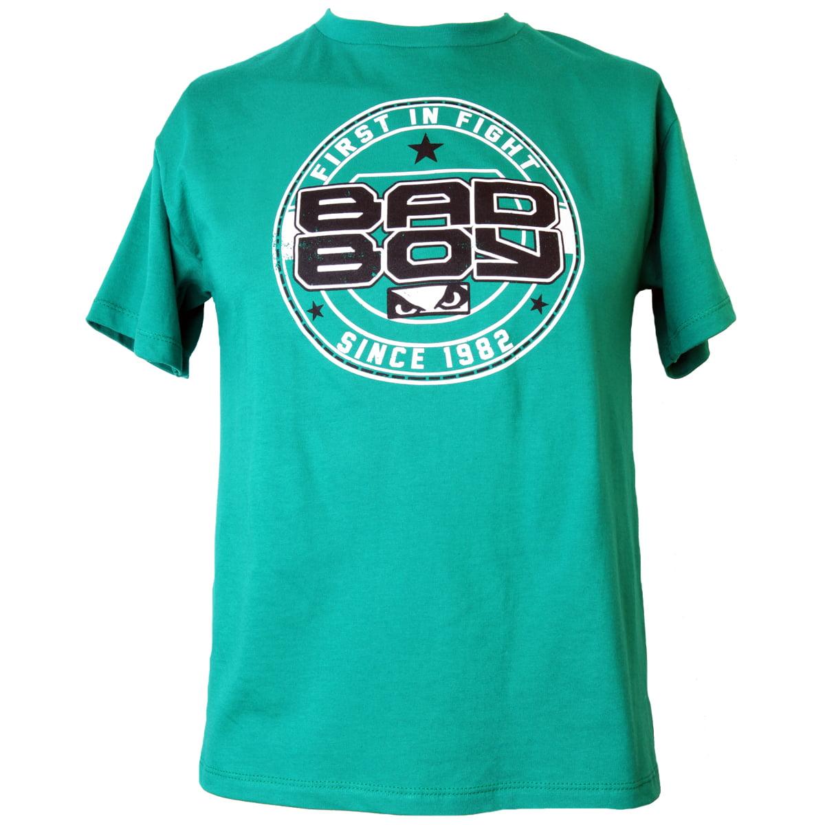 Bad Boy Youth Young Gun T-Shirt - Green thumbnail