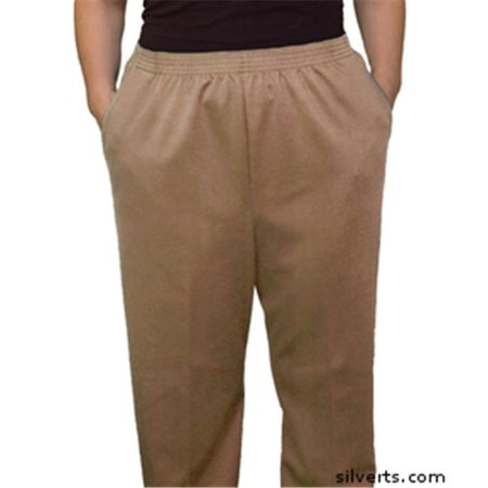 New Women39s Petite Elastic Waist Scrub Pants  Cargo Pants