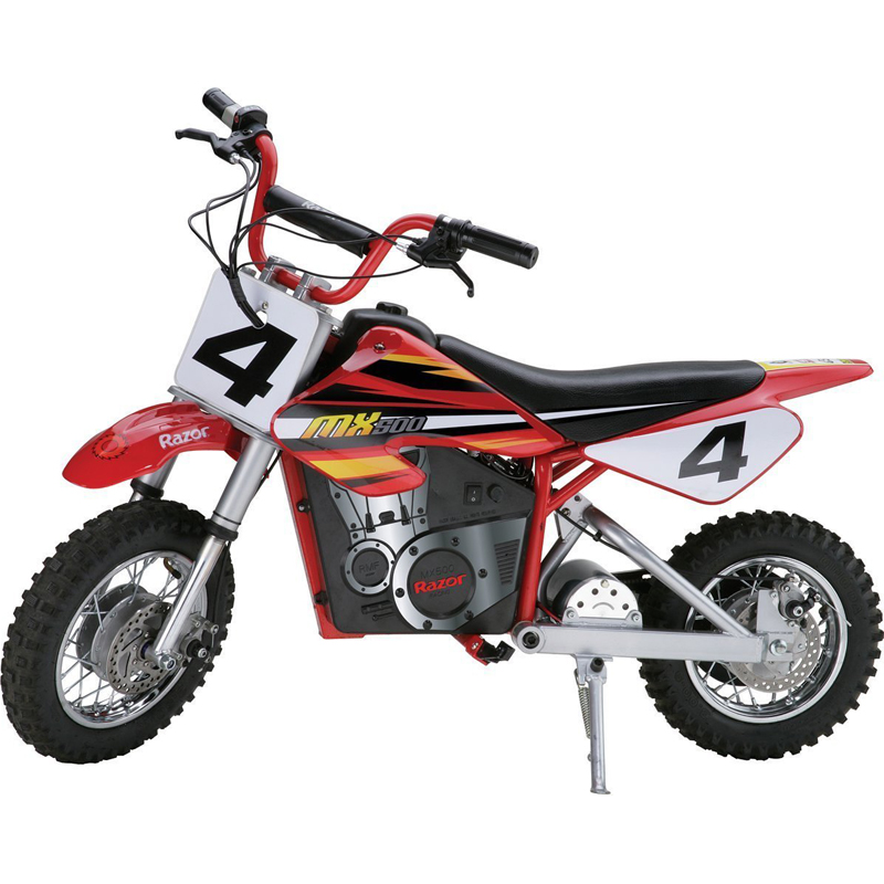 Razor MX500 Dirt Rocket Electric Motocross Bike, Red