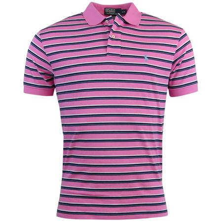 Polo Ralph Lauren Mens Classic Fit Striped Polo Shirt