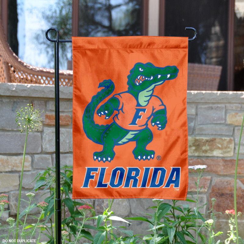"Florida Gators Albert Mascot 13"" x 18"" College Garden Flag"