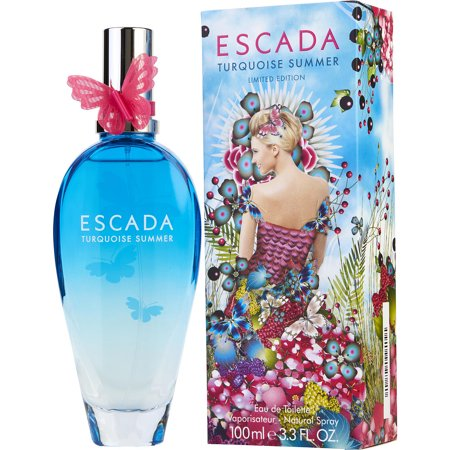 Best Escada Turquoise Summer Eau de Toilette Spray, 3.3 Oz deal