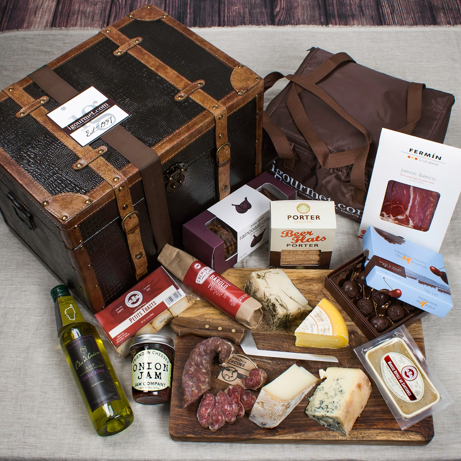 igourmet For The Extreme Foodie Gift Trunk by Overstock