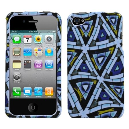 Insten Winter Rings Hard Cover Case For iPhone 4S 4 case