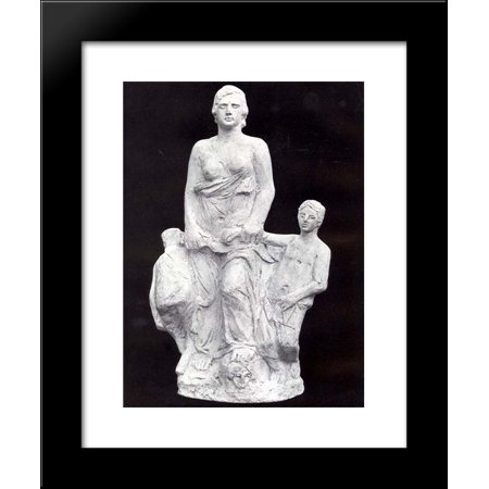 Medea Body Art (Medea 20x24 Framed Art Print by Yannoulis)