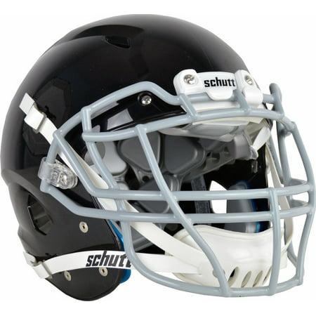 Blank Football Helmet (Schutt Vengeance VTD II Football Helmet without Faceguard Black)
