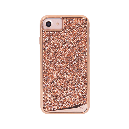 Case Mate Brilliance Case iPhone 7/6s/6 Rose Gold, CM034692X (Rose (Case Mate Barely There Case Iphone 6)