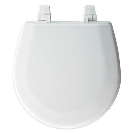 Bemis 1400TTA Wood Elongated Toilet Seat White