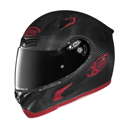 x lite helmets x 802rr puro helmet carbon red xs. Black Bedroom Furniture Sets. Home Design Ideas