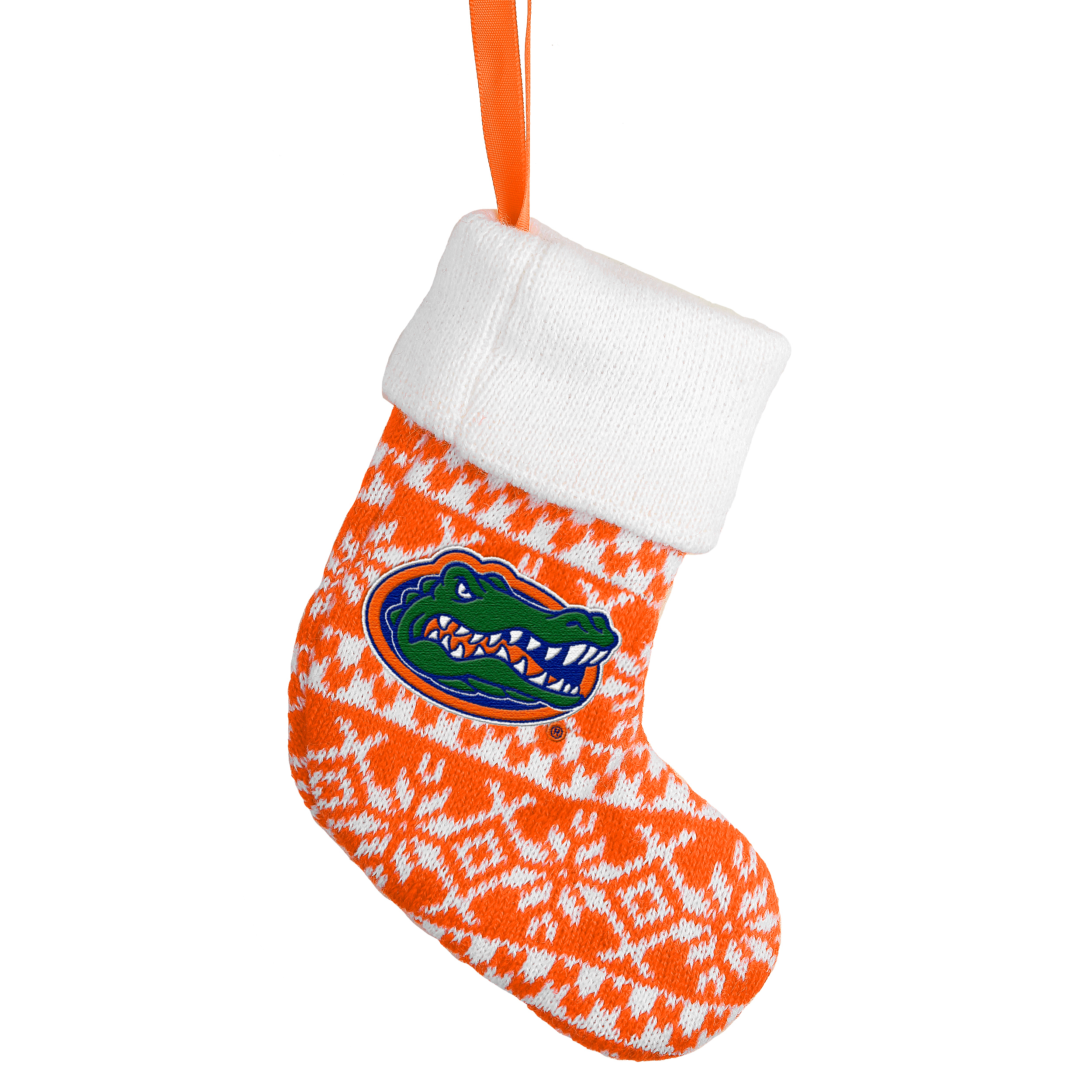 Florida Gators Official NCAA Holiday Knit Stocking Christmas Ornament Gift Card Holder by Forever Collectibles 491939