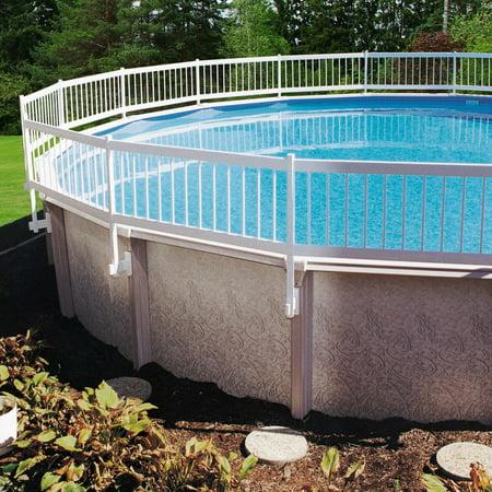 GLI Above Ground Pool Fence Kit - White