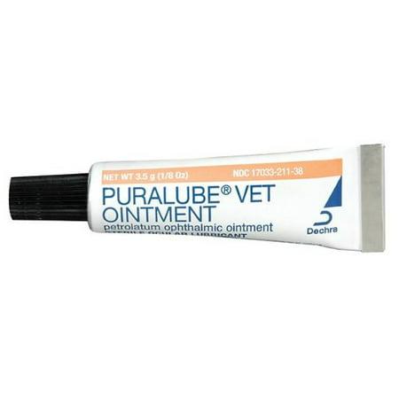 Puralube Vet Ointment - 1/8 oz tube - Sterile Ocular - Vet Eye